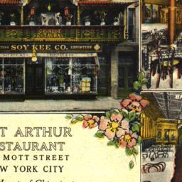 Port Arthur Restaurant in t...