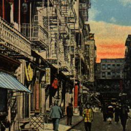 Pell Street, Chinatown, New...