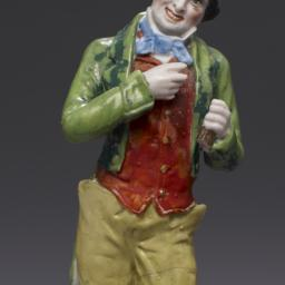 Ceramic Figurine Of Unnamed...