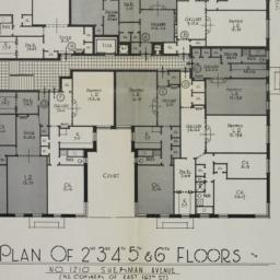 1210 Sherman Avenue, Plan O...