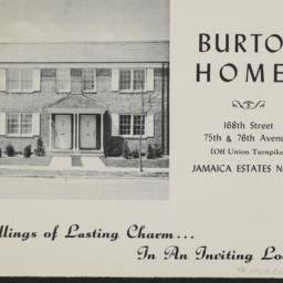 Burton Homes, 168 Street An...