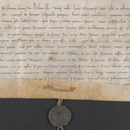 Papal Bull, 1288 November 1...
