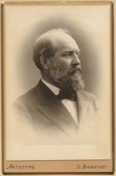 Portrait of Pres. James A. Garfield (1831-1881)