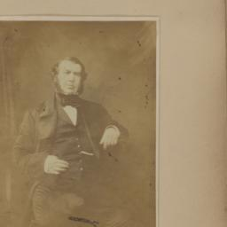 Unidentified man, Seated