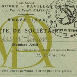 Société des Artistes Décora...