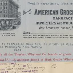 American Grocery Company, b...