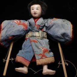Japanese Rod Puppet