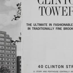 Clinton Towers, 40 Clinton ...