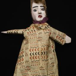 Female Hand Puppet With Ker...
