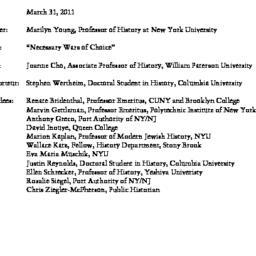 Minutes, 2011-03-31. Twenti...