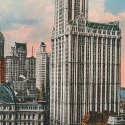 Woolworth Building, New Yor...