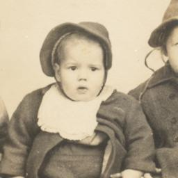[Three Small Children in Ha...