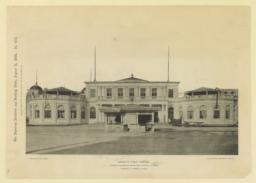 Bureau of Public Comfort, World's Columbian Exposition, Chicago, Illinois. Charles B. Atwood, Architect