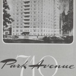 710 Park Avenue, Plan Of 19...