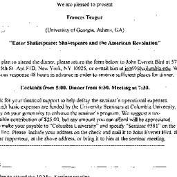 Announcements, 2002-05-10. ...