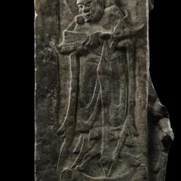 Relief with Guardian Figure