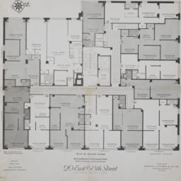 20 E. 68 Street, Plan Of Se...