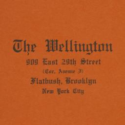 The     Wellington, 909 E. ...