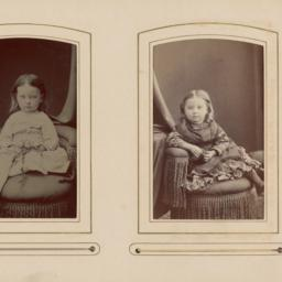 Two Images: Unidentified Girls