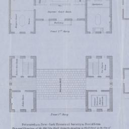 Plan and elevation of the o...