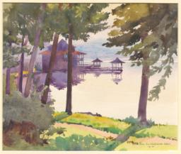 Cabin on the Lake, Knollwood (N.Y.)