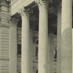 Detail of the Peristyle. Wo...