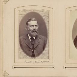 Two Images: Unidentified Men