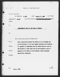 Appropriation for Carnegie-Myrdal Study, June 1, 1939