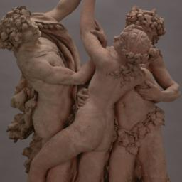 Two Satyrs and One Nymph