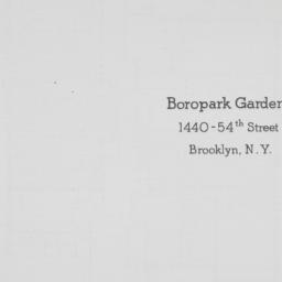 Boropark Gardens, 1440 54 S...