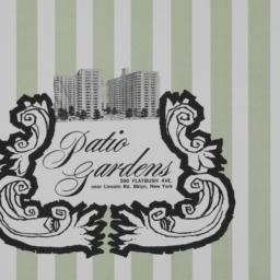 Patio Gardens, 590 Flatbush...