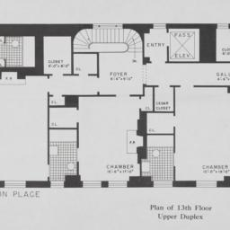 4 Sutton Place, Plan Of 13t...
