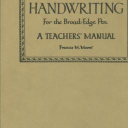 Handwriting for the broad-e...