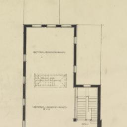 Third floor plan. Rivington...
