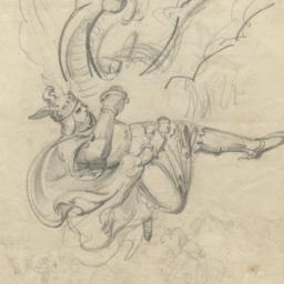 Viking Fighting with a Dragon