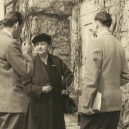 Frances Perkins with other ...
