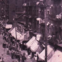 Scene on Lower East Side, N.Y.