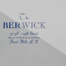 The     Berwick, 72-38 113 ...