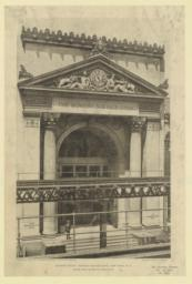 Bowery front: Bowery Savings Bank, New York, N. Y. McKim, Mead & White, Architects
