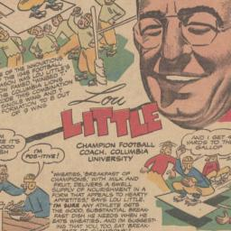Lou Little Wheaties Cartoon