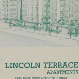 Lincoln Terrace Apartments,...