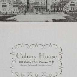 Colony House, 225 Sterling ...