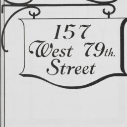 157 West 79th Street