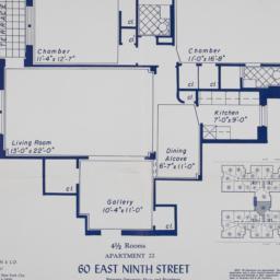 60 E. 9 Street, Apartment 22