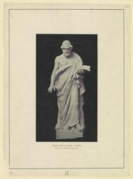 Greek epic poetry: Homer. Daniel C. French, sculptor