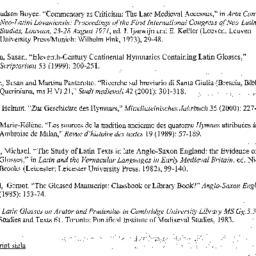 Handouts, 2001-03-27. Medie...