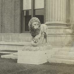[Lion Statue, outside Avery...