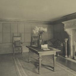 Mr. Poor's reception room, ...