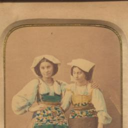 Portrait of Two Women in Na...