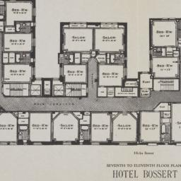 Hotel Bossert, Hicks Street...
